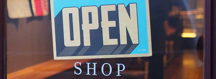 Open shop image