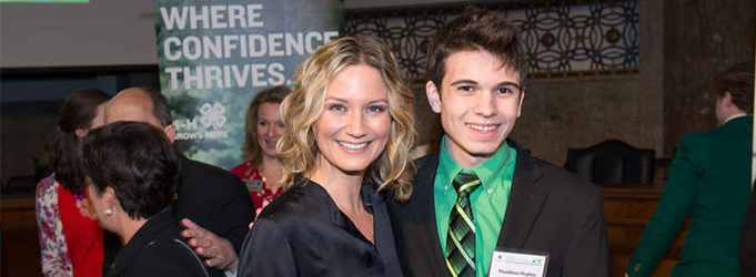 image of Thaddeus Hughes at 4-H National Congressional Breakfast