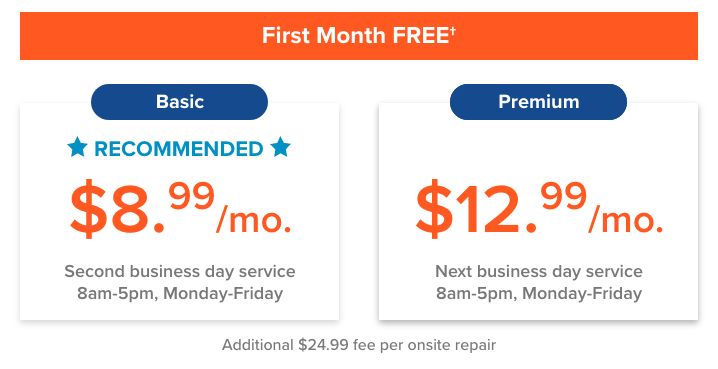 Express Repair Plans & Pricing