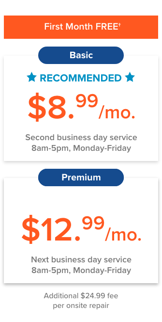 express repair plans and pricing