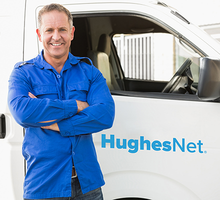 HughesNet technician