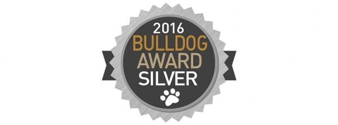 Bulldog Award silver badge